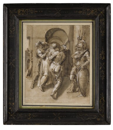 View 2. Thumbnail of Lot 91. Christ Captured.