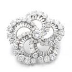 Diamond brooch, pendant
