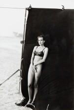 Peter Lindbergh | Tajanna Patitz's, first nude picture, Deauville beach, 1993