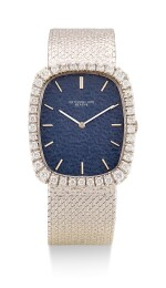 PATEK PHILIPPE | GOLDEN ELLIPSE, REFERENCE 3567, A WHITE GOLD AND DIAMOND-SET BRACELET WATCH, CIRCA 1970