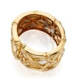 GOLD AND ENAMEL CUFF-BRACELET, DAVID WEBB