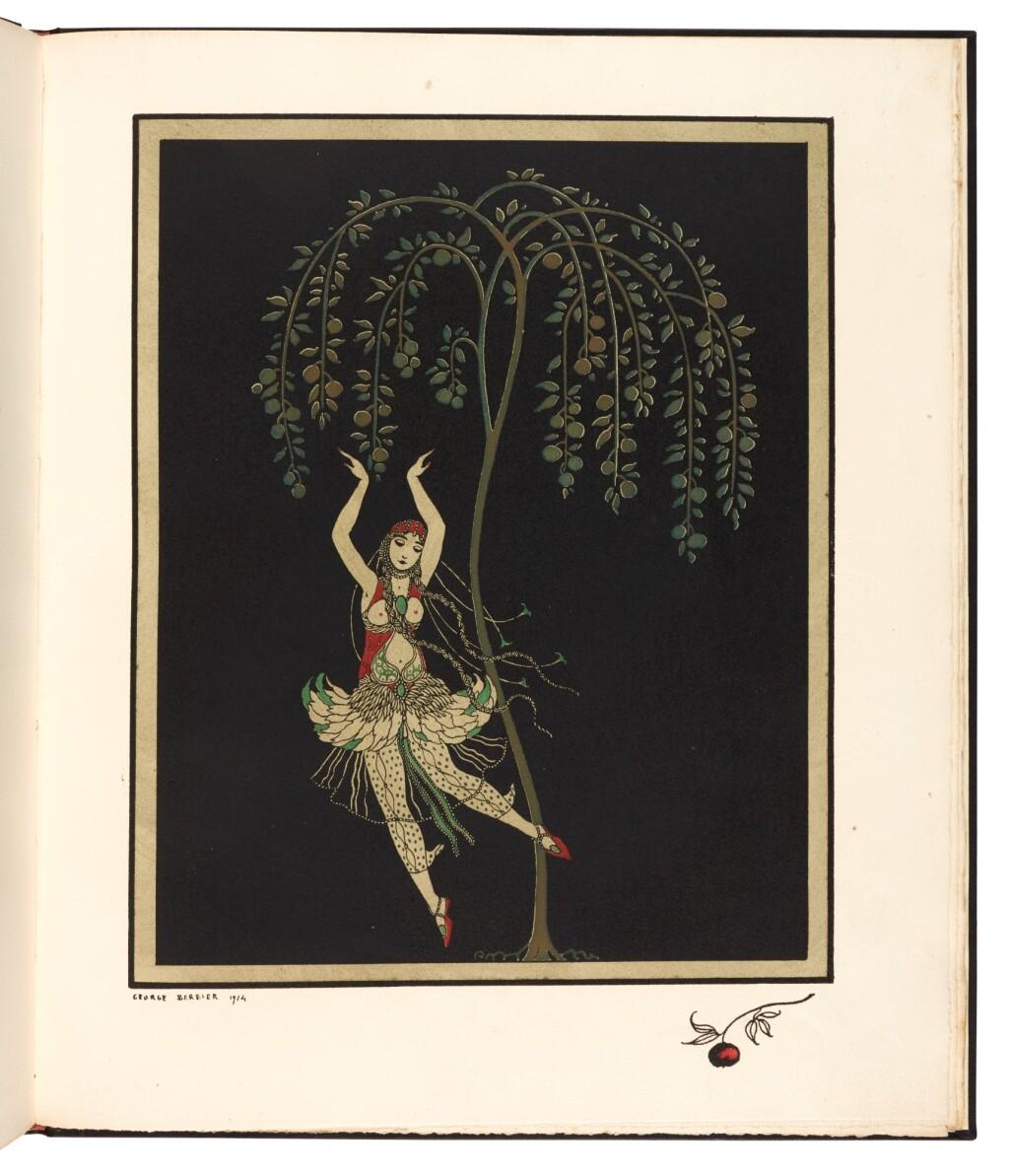 BARBIER, GEORGE AND JEAN-LOUIS VAUDOYER | ALBUM DÉDIÉ À TAMAR KARSAVINA. PARIS: PIERRE CORRARD, 1914