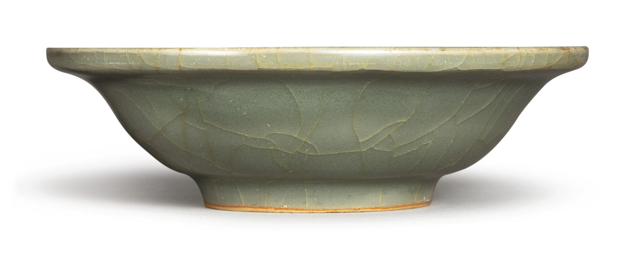 View full screen - View 1 of Lot 1130. A SMALL 'LONGQUAN' CELADON BOWL, MING DYNASTY.