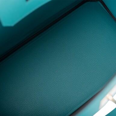 Hèrmes Bleu Paon Birkin 30cm of Epsom Leather with Gold Hardware