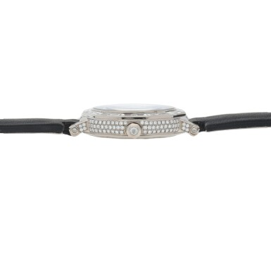 View 5. Thumbnail of Lot 419. REF GXXVI WHITE GOLD AND DIAMOND-SET WRISTWATCH WITH MOTHER-OF-PEARL DIAL CIRCA 2010.