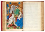 Book of Hours, use of Amiens, Paris, Simon Vostre, 1508, printed on vellum, later red morocco