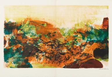 View 9. Thumbnail of Lot 181.  À la gloire de l'image.... Barcelone, 1977. 15 lithographies en couleurs. Edition originale..
