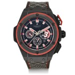 "HUBLOT | BIG BANG KING POWER ""DWYANE WADE"", REFERENCE 703.CI.1123.VR.DWD11, A LIMITED EDITION CERAMIC AND TITANIUM CHRONOGRAPH WRISTWATCH WITH DATE, CIRCA 2013"