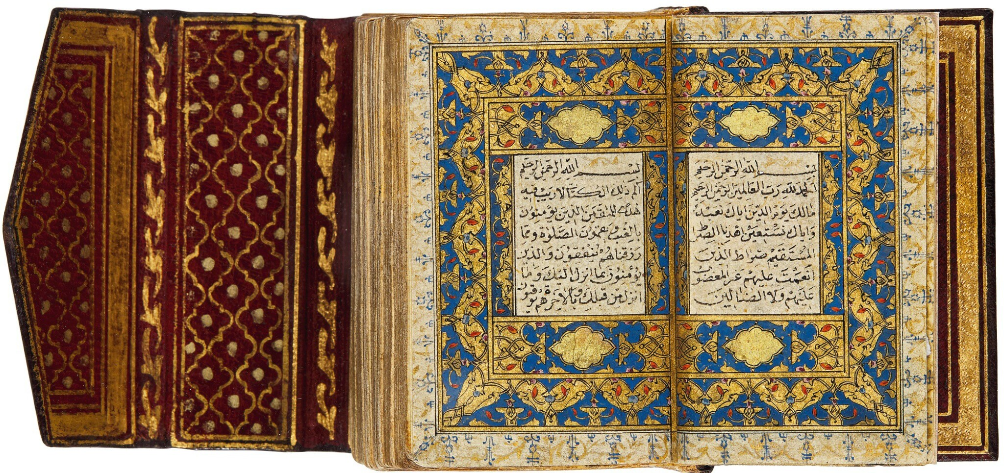 AN ILLUMINATED MINIATURE QUR'AN, TURKEY, OTTOMAN, 16TH CENTURY