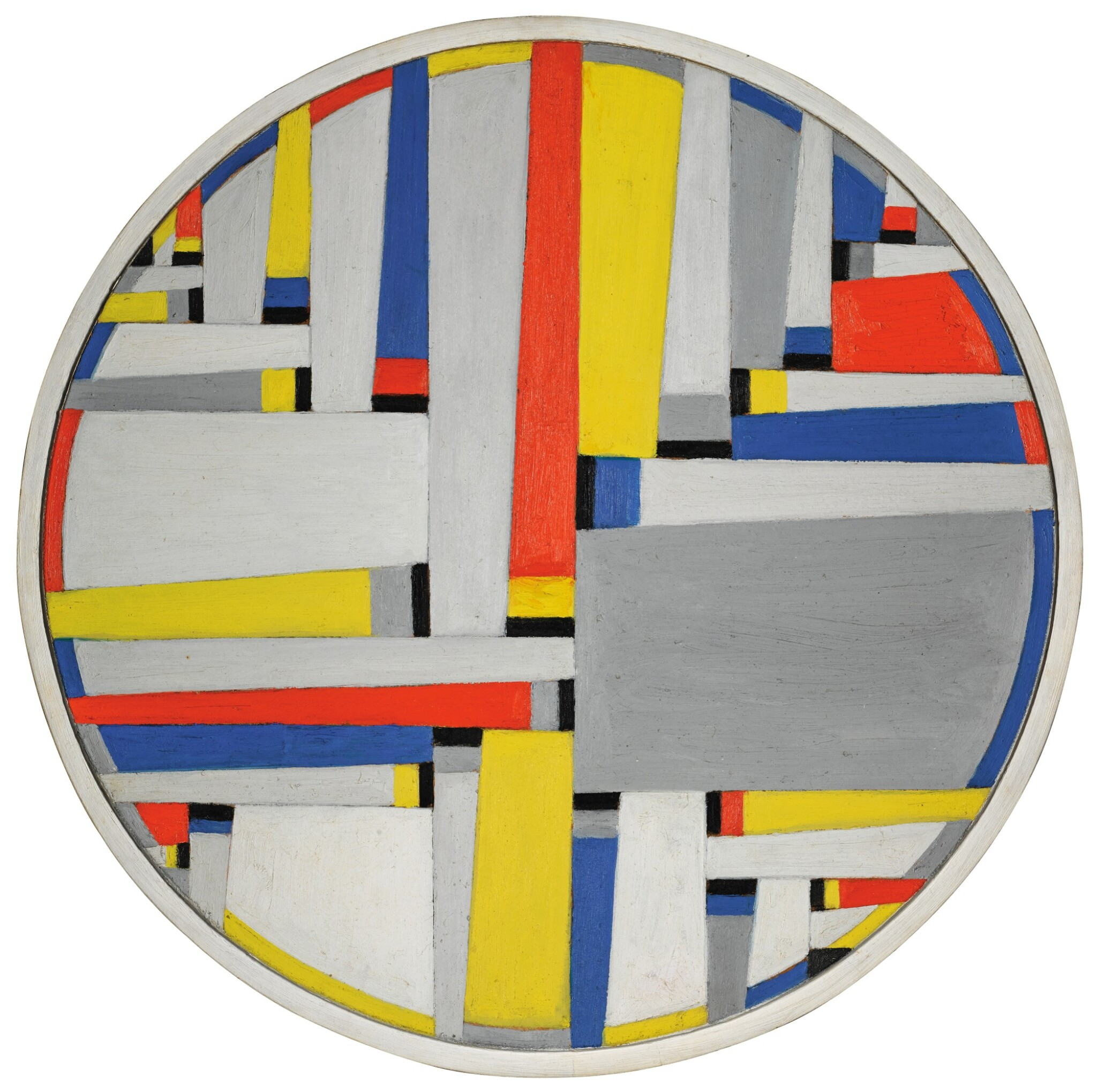 View full screen - View 1 of Lot 1003. Relational Painting Tondo No. 65.
