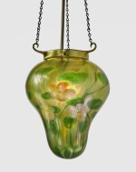 "TIFFANY STUDIOS | ""MILLEFIORI"" STALACTITE CEILING LIGHT"