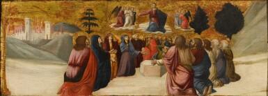 View 1. Thumbnail of Lot 42. GIOVANNI ANGELO D'ANTONIO DA CAMERINO  |  THE ASCENSION OF CHRIST.