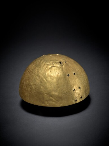 View 1. Thumbnail of Lot 92. Colombian Gold Helmet circa AD 300 - 900.
