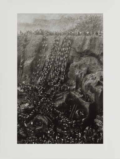 View 26. Thumbnail of Lot 10. 'Serra Pelada, Gold Mine, Brazil'.
