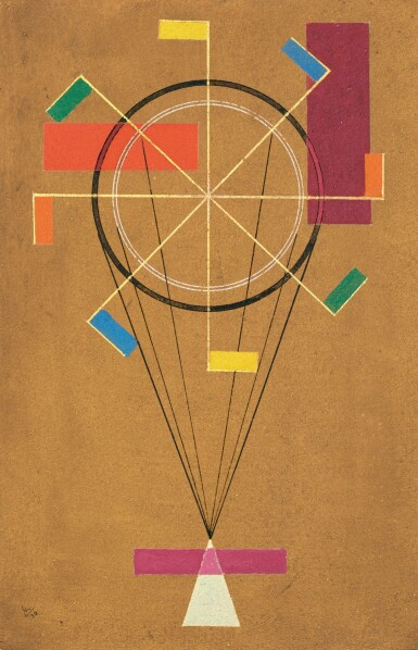 View 1. Thumbnail of Lot 18.  WASSILY KANDINSKY | FIDEL (JOLLY).