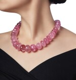 PINK TOURMALINE AND DIAMOND NECKLACE, PALOMA PICASSO FOR TIFFANY & CO.