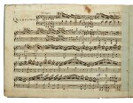 W. A. Mozart. Contemporary edition of the Piano Quartet in G minor, K.478, 1786