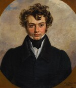 GEORGE DAWE | PORTRAIT OF A YOUNG GENTLEMAN