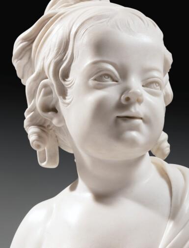 View 5. Thumbnail of Lot 63. Portrait of Constance-Félicité-Victoire-Désirée Vassé, daughter of the artist.