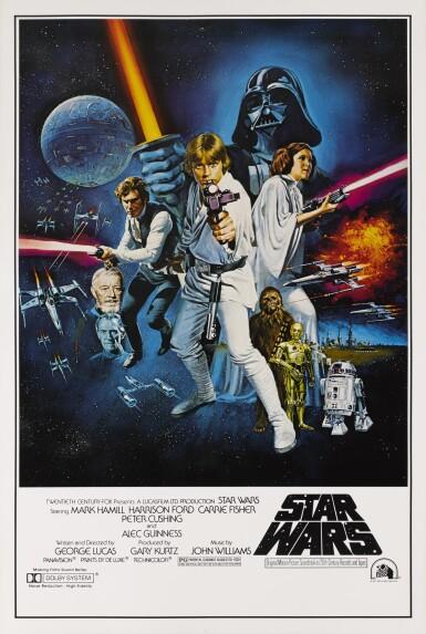 STAR WARS (1977) PRINTER'S PROOF, US