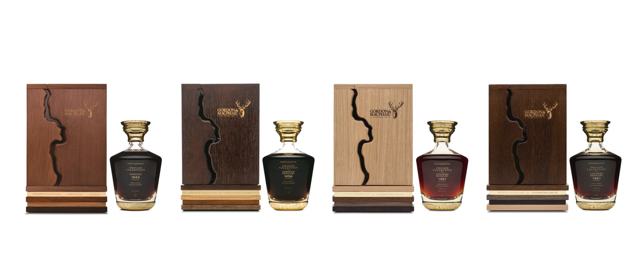 View full screen - View 1 of Lot 52. Gordon & MacPhail Private Collection Decanters & Experience .