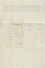 Custer, George A. Document signed, Fort Abraham Lincoln, Dakota Territory, 11 February 1875