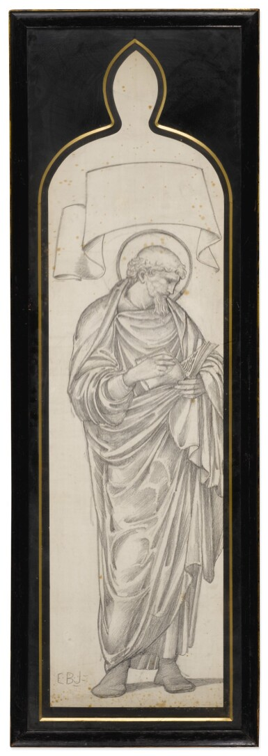 View 6. Thumbnail of Lot 37. SIR EDWARD COLEY BURNE-JONES, BT., A.R.A., R.W.S. AND STUDIO   FOUR CARTOONS FOR WINDOWS.