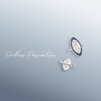 View 2. Thumbnail of Lot 6. A 1.51 Carat Marquise-Shaped Diamond, E Color, Internally Flawless.