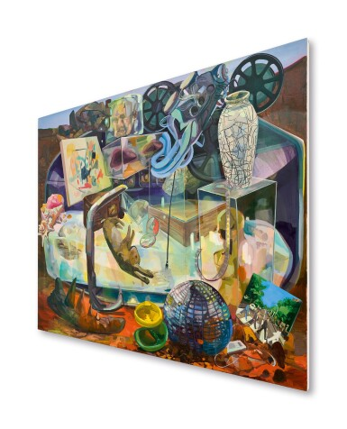 View 3. Thumbnail of Lot 23. Dana Schutz 戴娜・舒茨   Wrong Objects Saved for the Future 為將來保存了錯誤的東西.