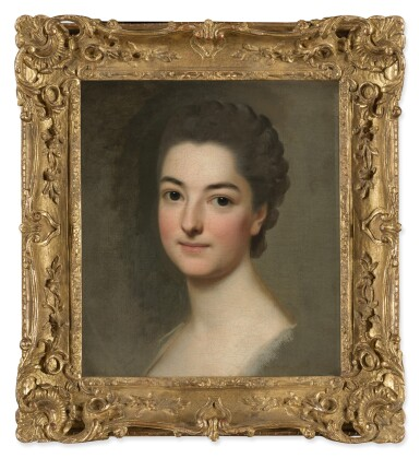 View 3. Thumbnail of Lot 148. ALEXANDER ROSLIN     STUDY OF THE HEAD OF A WOMAN, PERHAPS THE ARTIST'S WIFE, NÉE MARIE SUZANNE GIROUST.