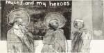 DAVID HOCKNEY, R.A. | MYSELF AND MY HEROES (S.A.C., MCA TOKYO 4)