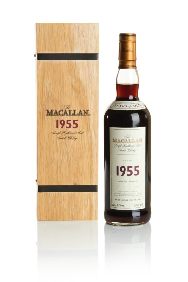THE MACALLAN FINE & RARE 46 YEAR OLD 45.9 ABV 1955