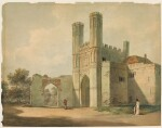 ATTRIBUTED TO PAUL SANDBY, R.A. | St. Augustine's Gate, Canterbury