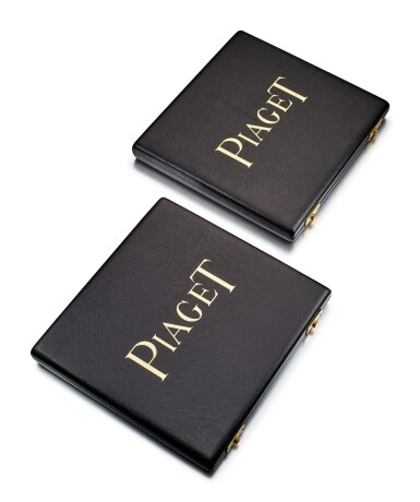 PIAGET   A SET OF LEATHER TRAVEL CASES, 1990