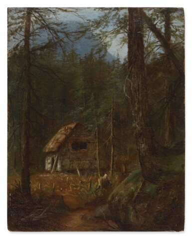 View 1. Thumbnail of Lot 486. LAURA WOODWARD | HOME IN THE WILDERNESS.