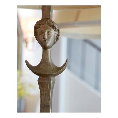 "View 4. Thumbnail of Lot 145. ALBERTO GIACOMETTI | ""TÊTE DE FEMME"" (""FIGURE"") FLOOR LAMP."