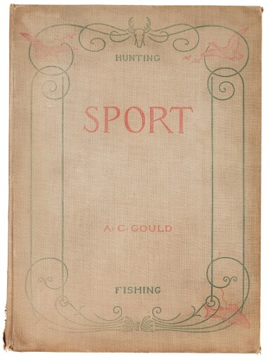 GOULD, A.C. — [REMINGTON, FREDERIC, A.B. FROST AND OTHERS (ILLUSTRATORS)] | Sport or Fishing and Shooting. Boston: Bradlee Whidden, 1889
