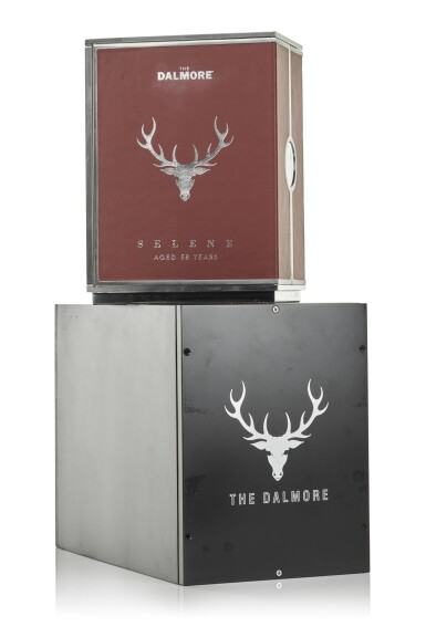 View 10. Thumbnail of Lot 1. The Dalmore 58 Year Old Selene 44.0 abv 1951     .