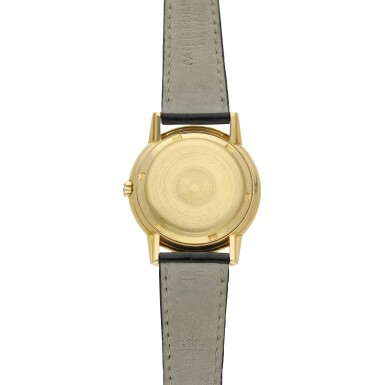 View 5. Thumbnail of Lot 230. Reference 3444  A yellow gold automatic wristwatch, Circa 1961 .