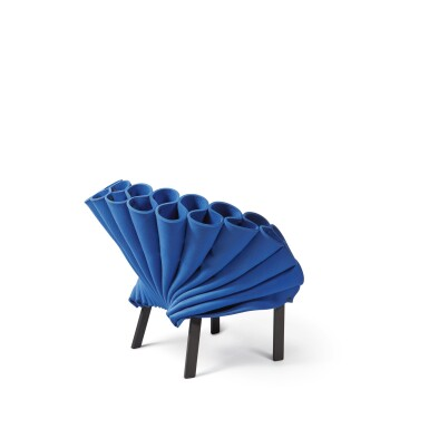 """View 3. Thumbnail of Lot 277. """"Peacock"""" Chair."""
