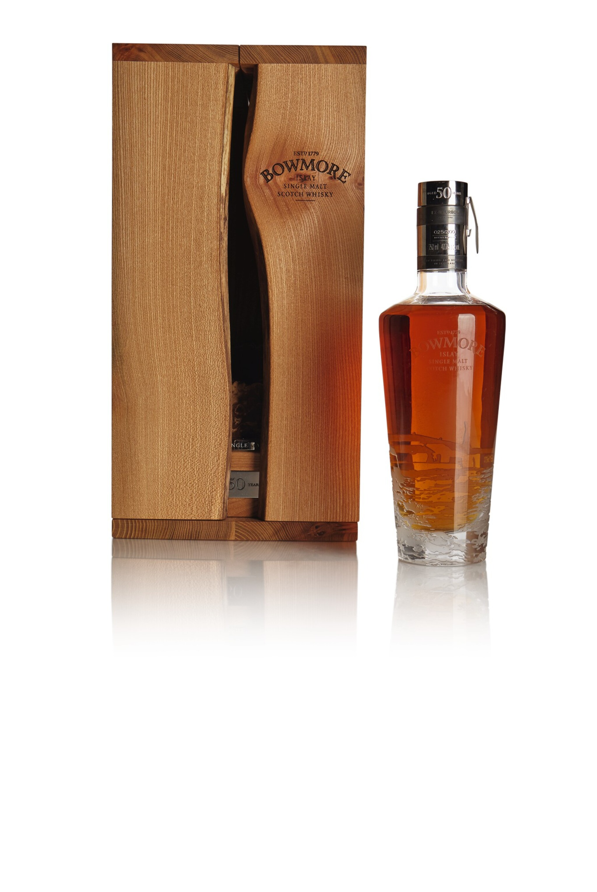 View full screen - View 1 of Lot 324. BOWMORE 50 YEAR OLD 40.7 ABV 1961  .