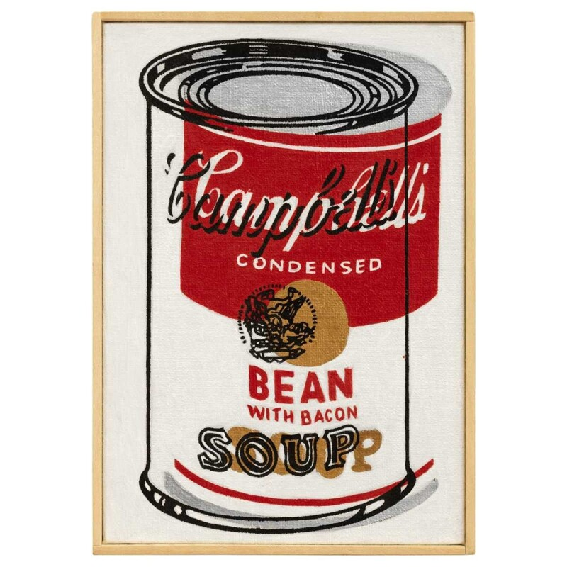 Andy Warhol, 'Campbell's Soup Can, Bean with Bacon', 1962