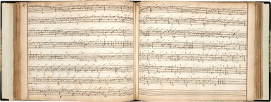 View 5. Thumbnail of Lot 65. Lute. Important manuscript of German, Austrian and French lute music, including by S.L. Weiss, c.1750 or later?.