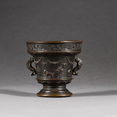 View 3. Thumbnail of Lot 134. ATTRIBUTED TO THE ALBERGHETTI FOUNDRY | MORTAR.