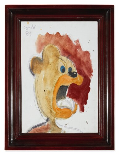 View 2. Thumbnail of Lot 1005. GEORGE CONDO | UNTITLED.