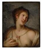 Venus, or a young woman en deshabillé