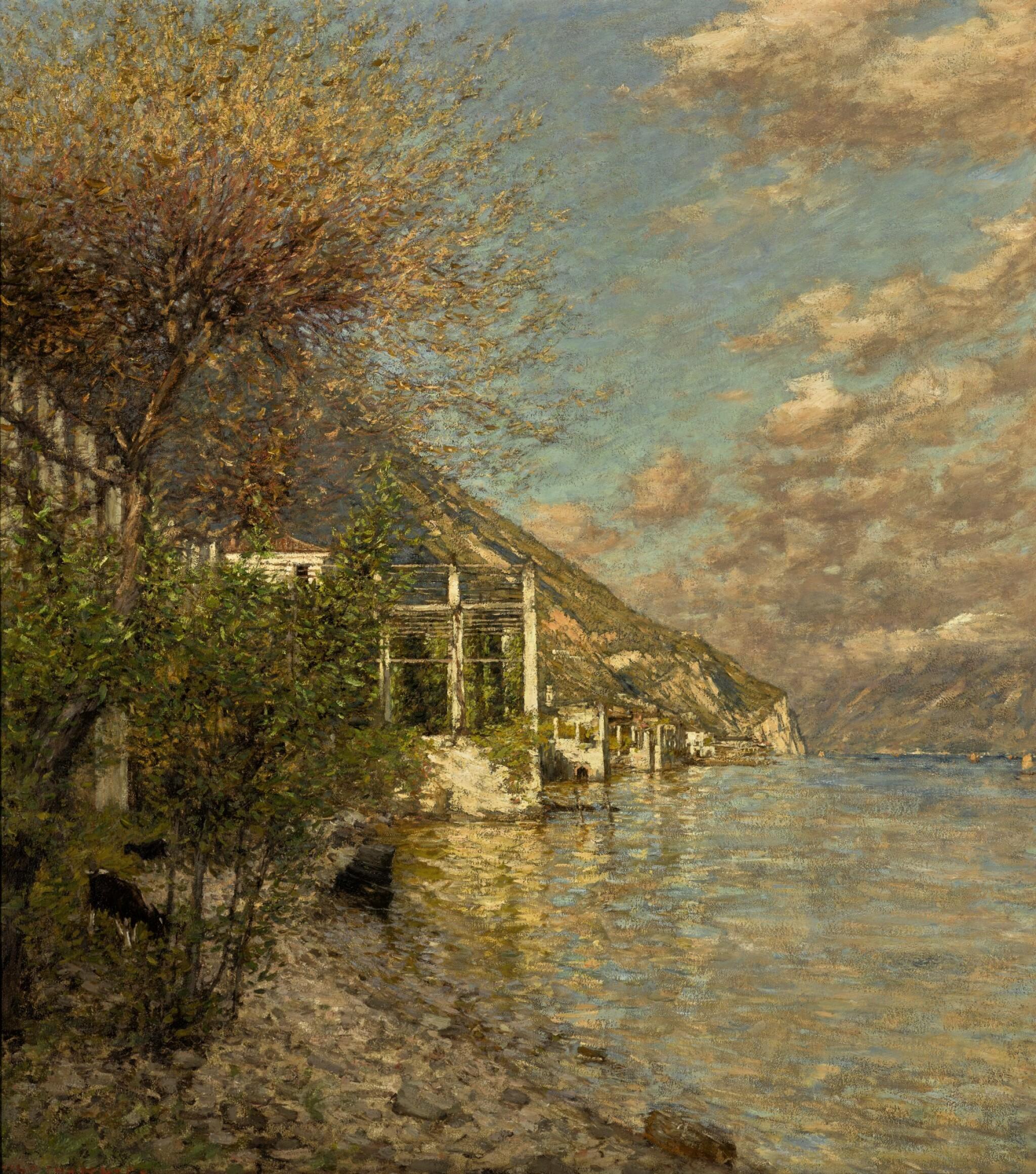 View 1 of Lot 119. A Brescian Shore.