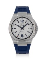 IWC | INGENIEUR EDITION PLASTIKI, REF 323608 LIMITED EDITION STAINLESS STEEL WRISTWATCH WITH DATE CIRCA 2011