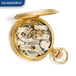 CHARLES FASOLDT, ALBANY, NY   [Charles Fasoldt,紐約阿伯尼]  | A GOLD HUNTING CASED LEVER POCKET CHRONOMETER WITH DOUBLE WHEEL ESCAPEMENT, DUAL KEYLESS/KEY WINDING VIA DETACHABLE CROWN, AND LATER PURPOSE-BUILT CASE  CIRCA 1880 NO. 485  [ 黃金精密計時懷錶備雙齒輪擒縱機芯、無匙/鑰匙上鏈、可分拆式錶冠及後補錶殼,年份約1880,錶殼編號485]