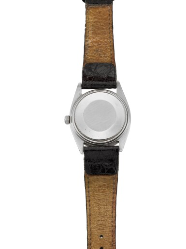 View 4. Thumbnail of Lot 456. ROLEX | EXPLORER, REF 5504  STAINLESS STEEL WRISTWATCH  CIRCA 1960.
